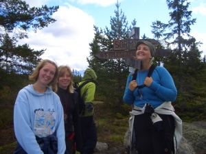 ...Where do we have 2 go???? ...Therese, Silje & Silje...