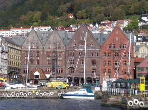 Bryggen i Bergen...