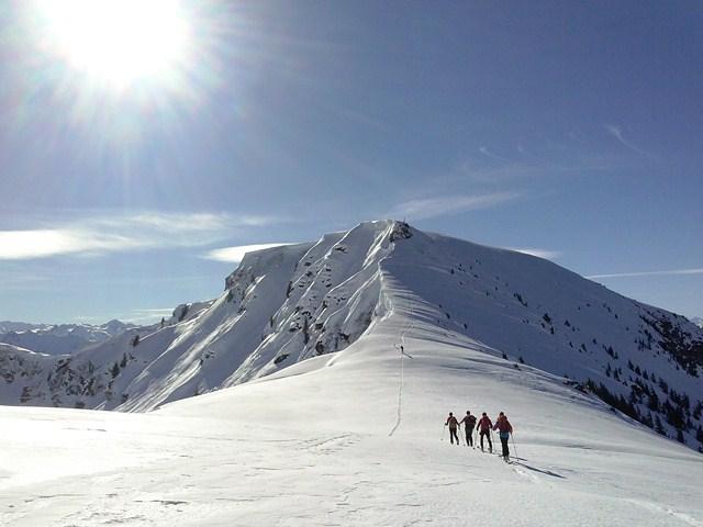hiking the Schwalbenwand...