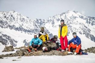 Our team: Tom, Steph, Mel, Liz, Zlu, Michi... Pic by Tobias Haller