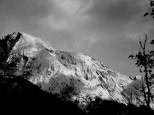 still sooooo much snow on the mountains!