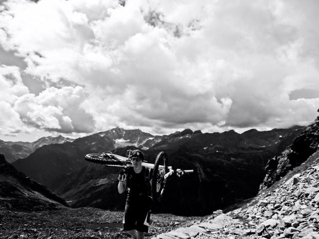 die letzten HM auf den Colle del Turlo (2738m)