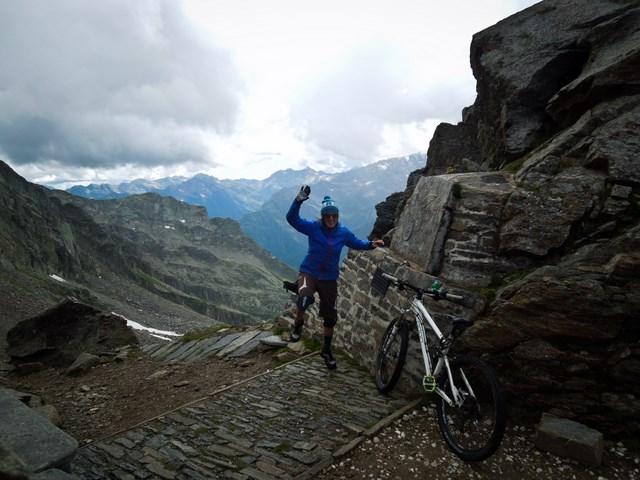 Geschafft... Wieder ein Pass... Colle del Turlo (2738m)