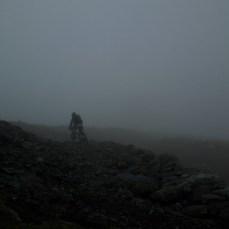 rein in den Nebel...