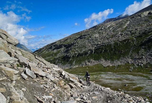 kurz vorm Tälliboden auf 2400 m