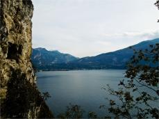 Blick Richtung Riva-Torbole...