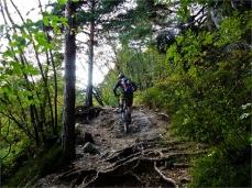 Johannes... Single-Trail-Master Bergauf...
