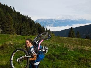 Hanna... die coolste und beste Bikerin die ich kenne :-)