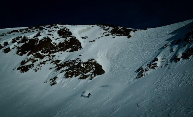 ein Ästhet auf Telemarkskiern: Michi Trojer