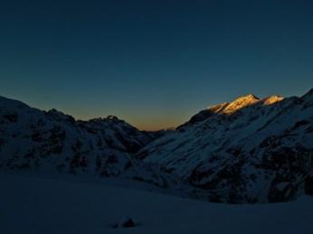 Sonnenuntergangsstimmung...