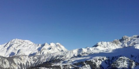 die französischen Alpen...