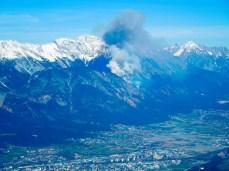 Waldbrand am Zunterkopf :-(