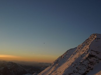 Heli Zermatt in the air...