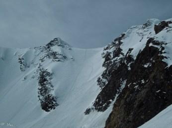 Abfahrt linkerhand der Aufstiegsspur. Gute Bedingungen!