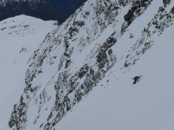 Aufstiegsbilder von einem der Bergsteiger / Marc Chevassus