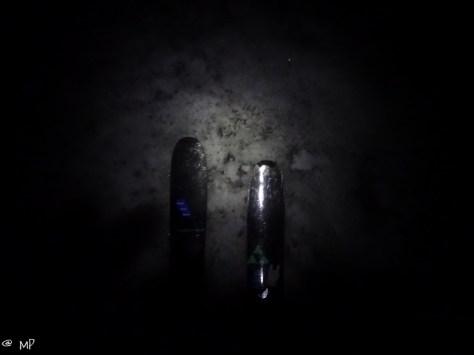 Walking in the dark...