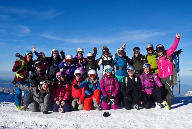 Shades of Winter Ladies Camp Engelberg