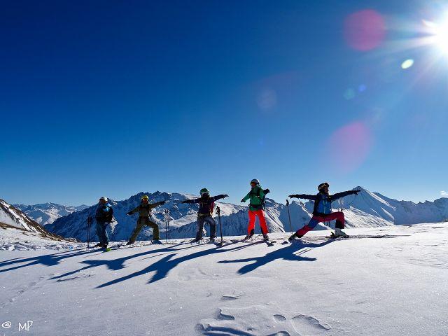 SkiYoga Camp Ischgl