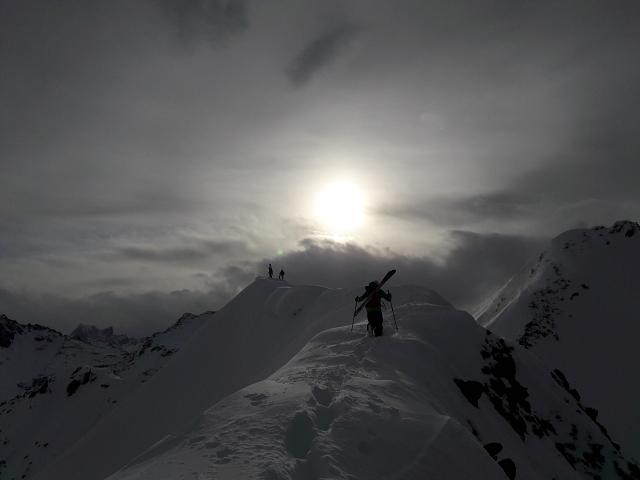 Skitouring in Vorarlberg…